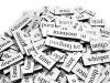 各試験の必要単語数を比較 (TOEICの勉強を始める前にやっておくべきことは?)